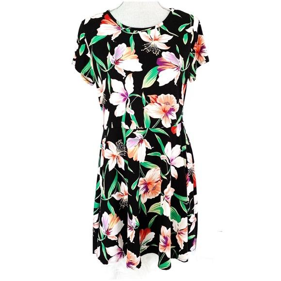 🐳Summer Sale!! Plus Size Tropical Dress